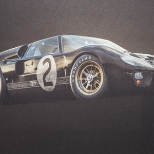 Ford Gth Le Mans  Ul Edition Poster