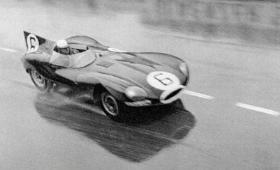 Story: A Jaguar D-type wins the death race